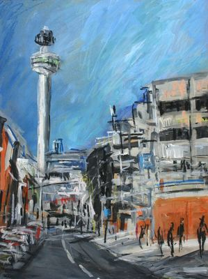 Towards Radio City Tower, Liverpool