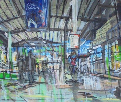 Visit Taiwan, Munich Hauptbahnhof