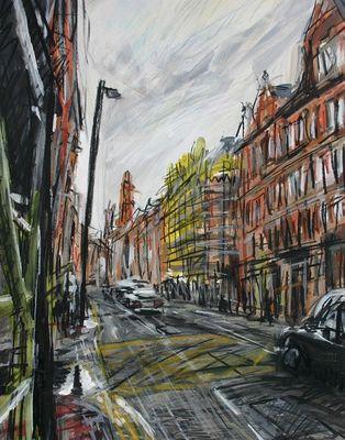 Yellow Scaffolding, Princess Street
