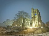 All Saints in Snow