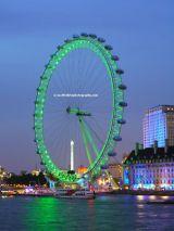 The Eye RGB Green