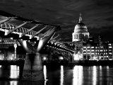 Millennium Bridge at Midnight