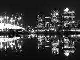 King George V Dock at Midnight