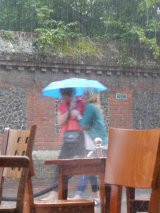 Canterbury Girls in Summer Rain