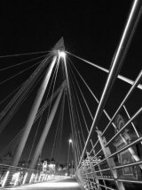 Jubilee Bridge at Midnight