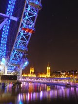 The London Eye And Palace of Westminster