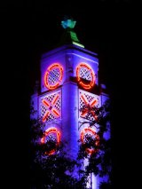 Oxo Tower at Midnight Colour
