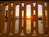Southwark Bridge Framed Sunset