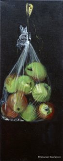APPLES IN A PLASTIC BAGSOLDCollection of Mrs. A. Ousby