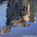 BURANO - REFLECTIONS V 100 x 100 cms.
