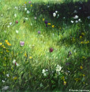 TULIP MEADOW AT HOWICK HALL IIAcrylic on Canvas50x50cmsSOLDPrivate CollectionYork