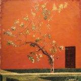 "Jardin Marques de le Vega Inclan, Alcazar, Seville, oil on canvas, 20""x20"" (SOLD)"