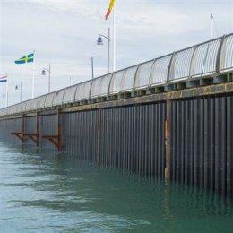 Breakwater Remedial Works at Haslar Marina, Gosport