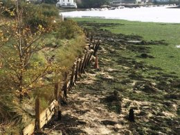 Lymington Foreshore Before