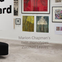 Marion Chapman's work in Gippsland Print Award 2015