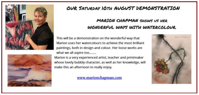Marion Chapman upcoming demo at Oatley 101