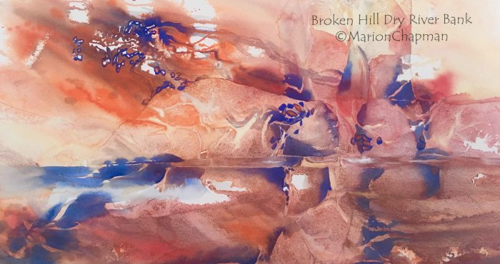 Broken Hill Dry River Bank