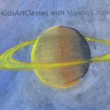 Kids Art Classes with Marion Chapman