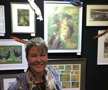 Marion Chapman, Winner, Printmaking, Royal Easter Show
