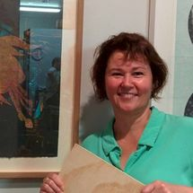 Marion Chapman exhibiting at Hazelhurst Community Gallery