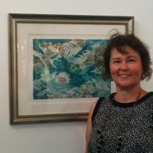 Marion Chapman's etchings at Peacock Gallery