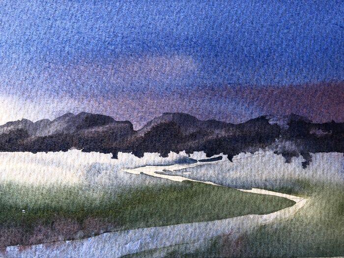 Road into landscape MChapman