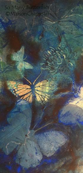 Welcome Garden Visitors (Butterflies)