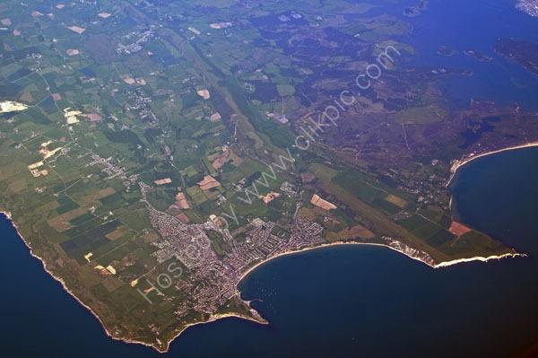 jurassic coast dorset aerial view