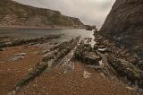 rocky purbeck shoreline