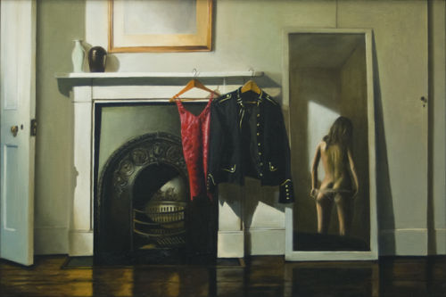 The Start of It All (2009, oil on canvas, 61 x 91 cms)