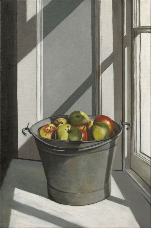 Autumn Windfalls (2010, oil on canvas, 60 x 40 cms)