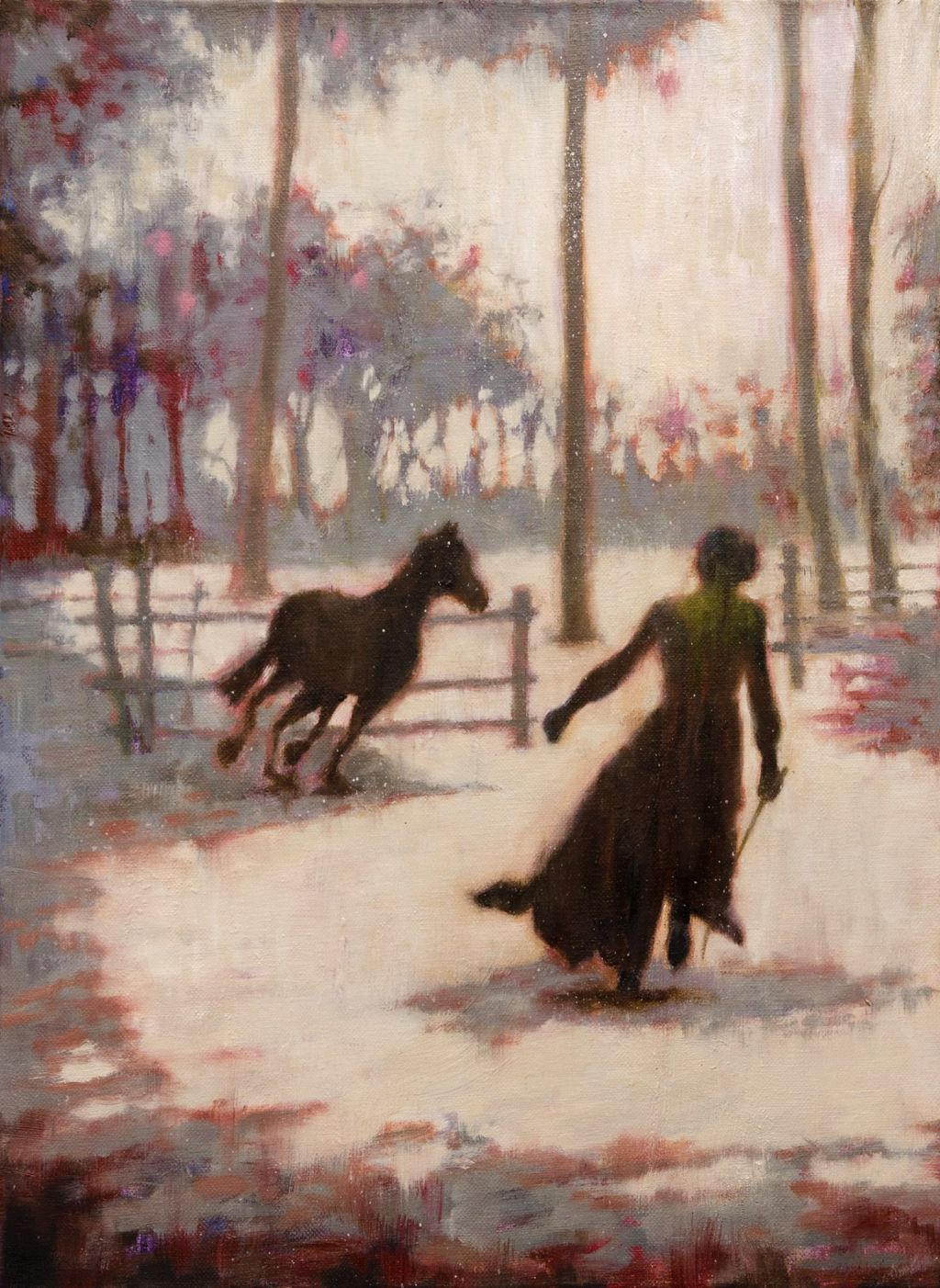 Distaff (small version) (36 x 48 cm, oil on canvas),   SOLD