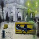 Dream of an Insomniac (60 x 60 cm, oil on canvas)