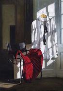 Dress Code: Black Tie (2008, oil on canvas, 70 x 50 cms)