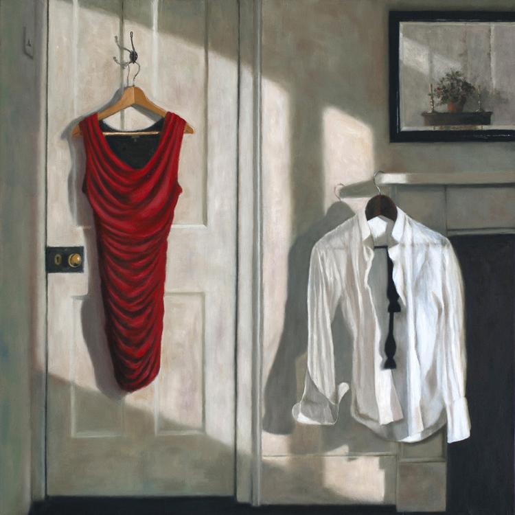'Harmonium'  (60 x 60 cms, oil on canvas)