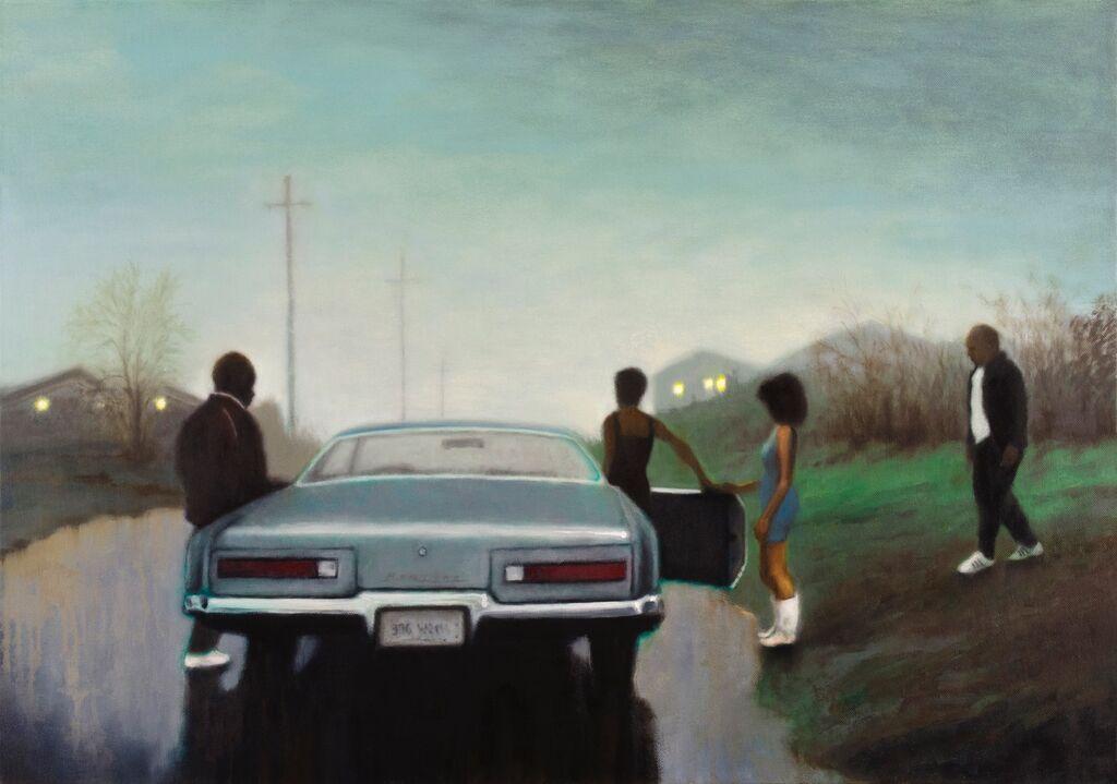 'Pontiac Queen', 59 x 84 cm, oil on canvas
