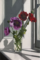 Pink & Red Poppies (60 x 40 cms, oil on canvas, 2013)