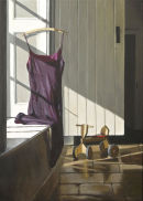 When Shadowed Days Are Done (2010, oil on canvas, 70 x 50 cms)