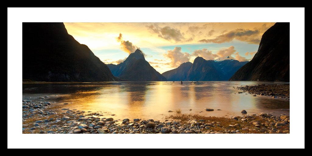 Sunset, Milford Sounds NZ