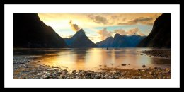 Sunset, Milford Sounds NZ