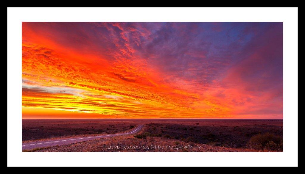 Mundi Mundi Sunset