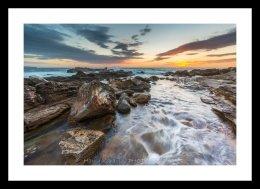 Palm Beach Rocks Sunrise