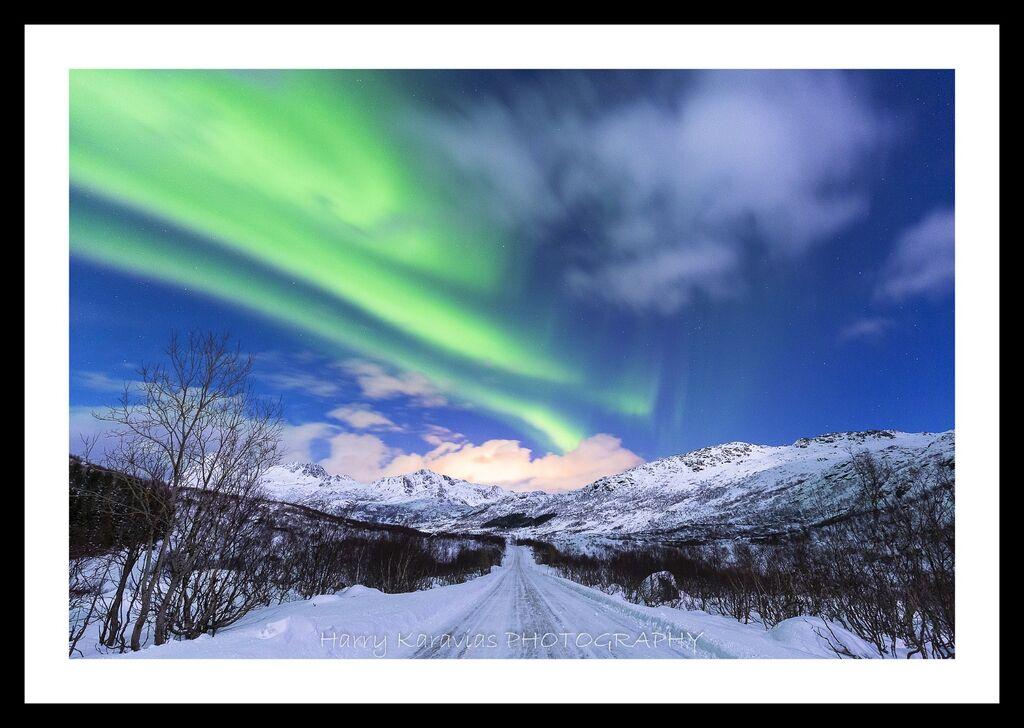 Dancing Lights, Lofoten Island, Norway