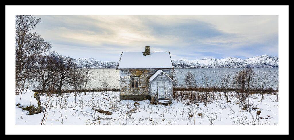 Little White Shack, Berg, Lofoten Island, Norway