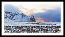 Unstad, Lofoten Island, Norway