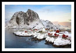 Little fishing village, Hamnoy, Norway