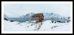 Red Shed, Svolvaer, Lofoten, Norway