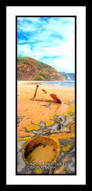wrech beach, moonlight head