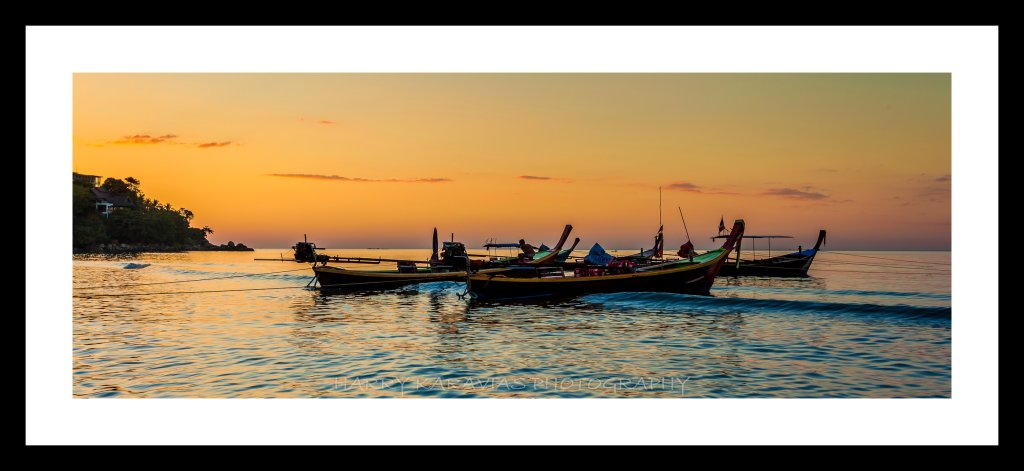 Sunset Kamala beach, Thailand