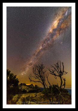 Milky Way, Lincoln Rock, Blue Mountains